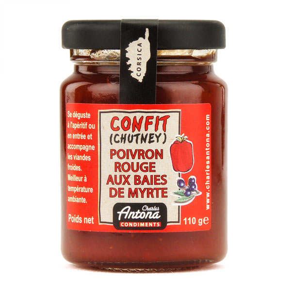 Myrtres berries and red pepper Chutney