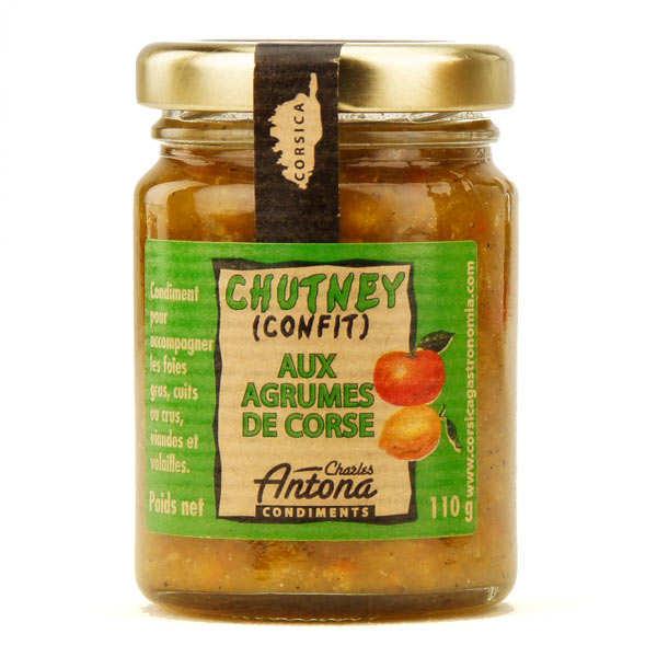Chutney aux agrumes de Corse