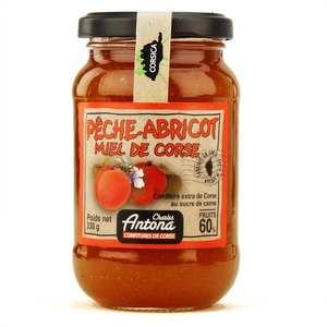 Charles Antona - Confiture extra de Corse Pêche-abricot-miel