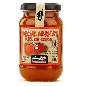 Charles Antona - Confiture extra de Corse bio Pêche-abricot-miel