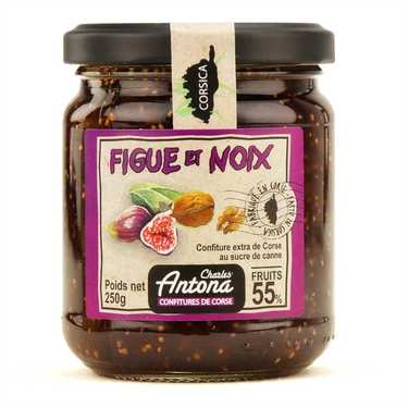 Fig and nuts jam