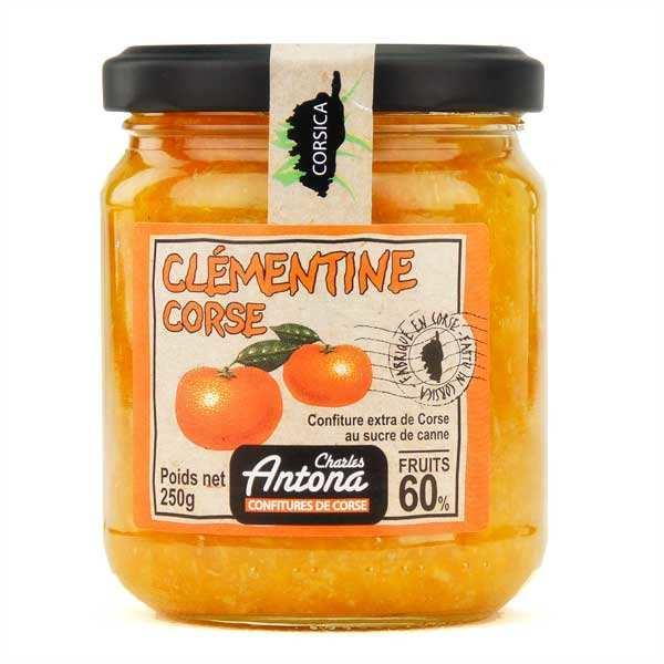 Confiture extra de Clémentine de Corse