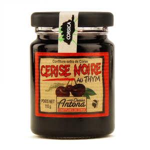 Charles Antona - Confiture extra de cerise noire au thym de Corse