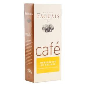Maison Faguais - Café moulu Maragogype du Mexique - Maison Faguais