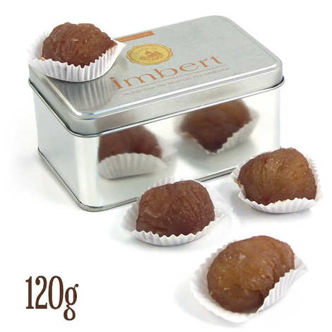 Marrons Imbert - Crystallised chestnuts from Aubenas
