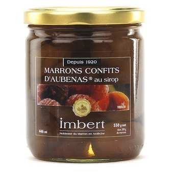 Marrons Imbert - Crystallised Chestnuts - 550g