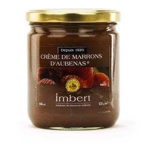 Marrons Imbert - Chestnut Purée from Aubenas