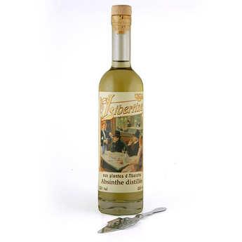 Distillerie Paul Devoille - Libertine - Une cuillère à absinthe offerte - 55%