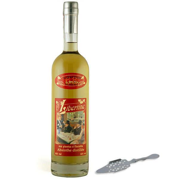 Libertine amer - Une cuillère à absinthe offerte - 68%