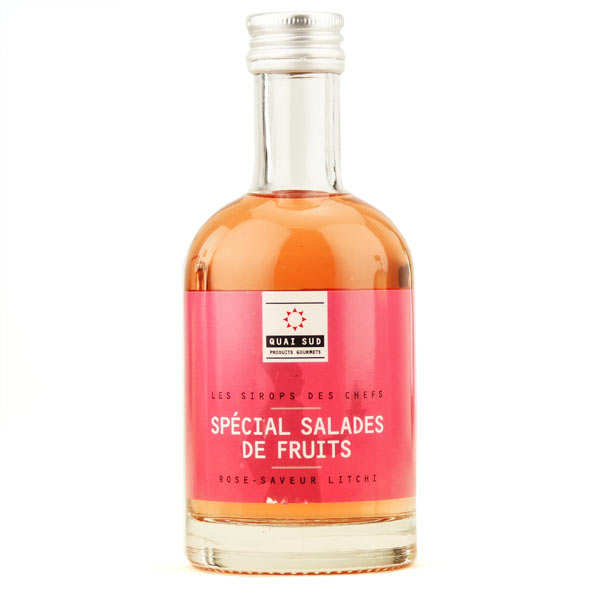 Special fruit salad syrup -Rose syrup with litchi fruit flavour