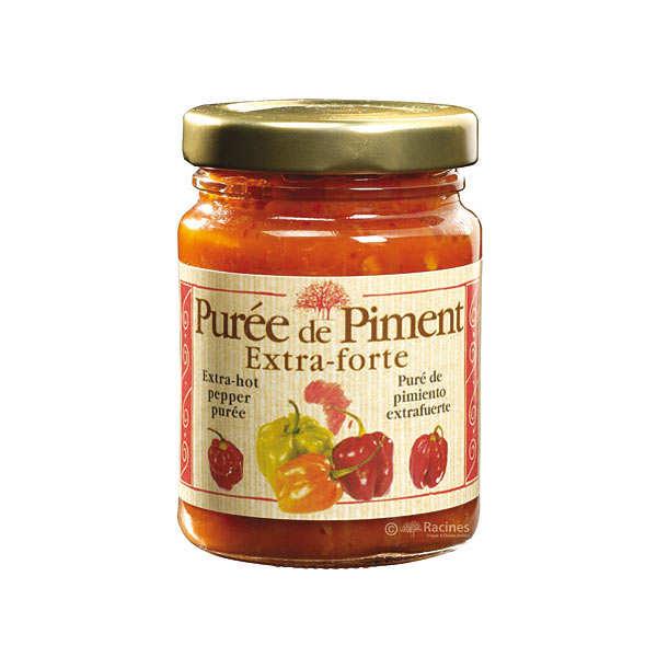 Extra-hot pepper puree