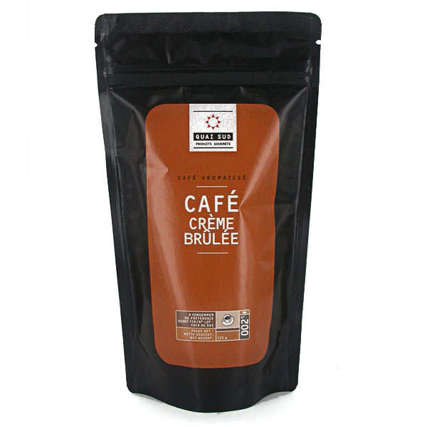 Café aromatisé crème brûlée