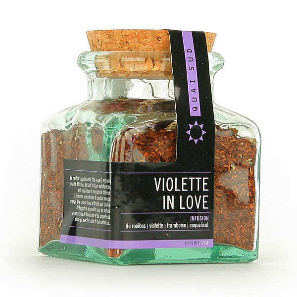 Infusion Violette In Love au rooibos