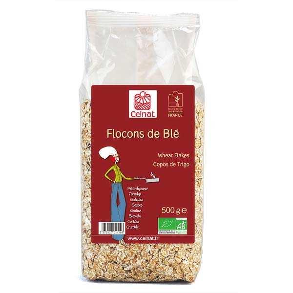Flocons de blé bio