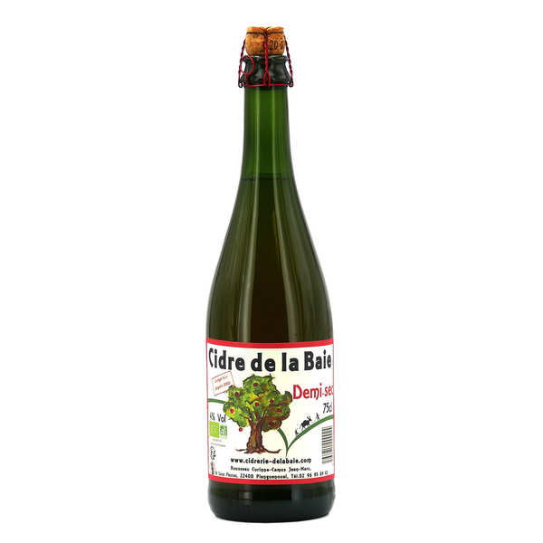 Organic Cider from Brittany 5%