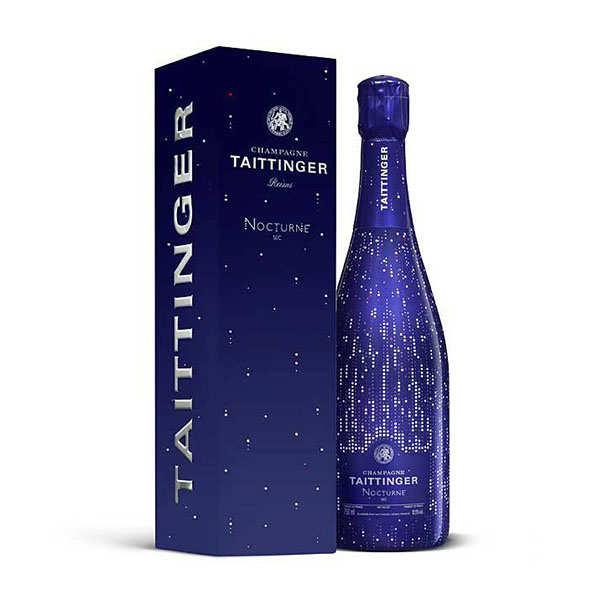 Champagne brut Nocturne Taittinger habillage Manhattan