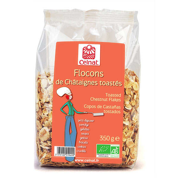 Organic chestnuts Flakes