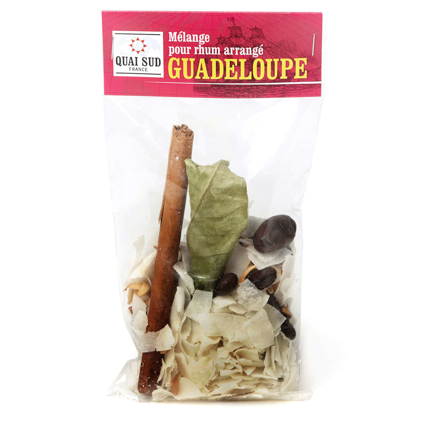 Guadeloupe mix for customized rum