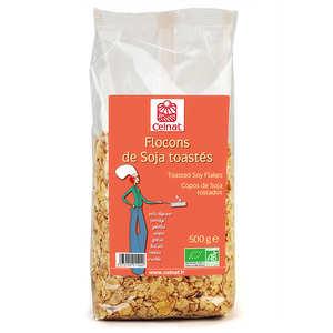 Celnat - Flocons de soja toastés bio
