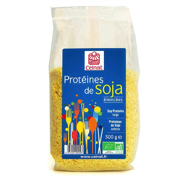 Protéines de soja émincées bio