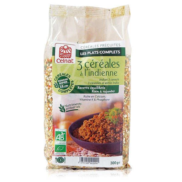 Boulgour 3 céréales à l'indienne bio