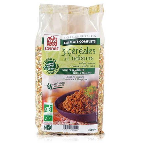 Celnat - Boulgour 3 céréales à l'indienne bio