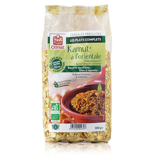 Organic Oriental Kamut®  (khorasan bulgur)