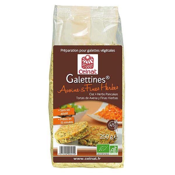 galettines avoine fines herbes bio sachet 250g achat cuisine en. Black Bedroom Furniture Sets. Home Design Ideas