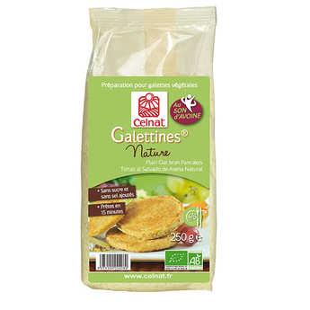 Celnat - Organic Plain oat bran