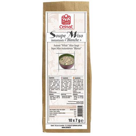 Celnat - Soupe Miso instantanée blanche