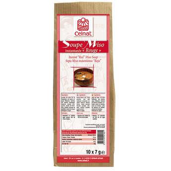 Celnat - Soupe Miso instantanée rouge