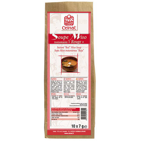 Celnat - Instant red miso soup