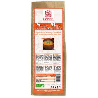 """Celnat - Soupe Miso instantanée """"Classic blend"""" bio"""