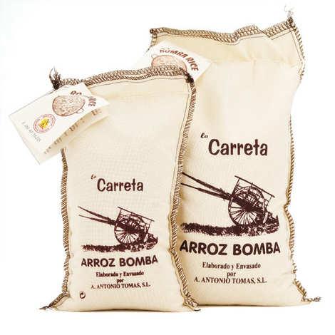 Antonio Tomas - Paella rice - AOP Arroz de Valencia