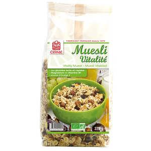 Celnat - Muesli vitalité bio 38% fruits secs