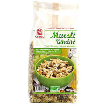 Celnat - Organic Vitality Muesli