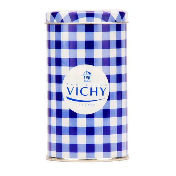 Pastilles Vichy Source en boite fer vintage