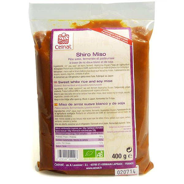 Organic sweet white rice miso