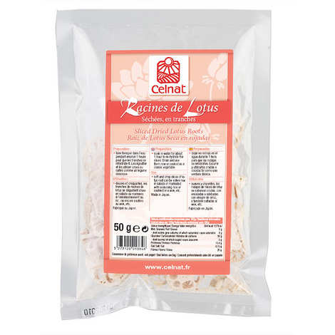 Celnat - Sliced Dried Lotus Roots