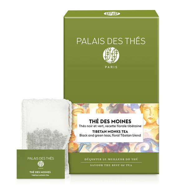 'Le Palais des Thés' - Tibetan Monks' Tea