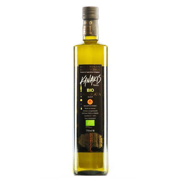 Huile d'olive bio grecque - Kanakis