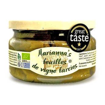 Marianna's - Feuilles de vignes farcies grecques bio
