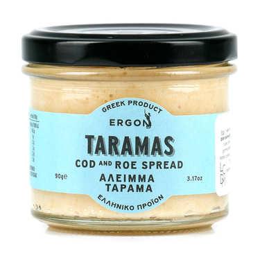 Tarama blanc grec aux oeufs de cabillaud