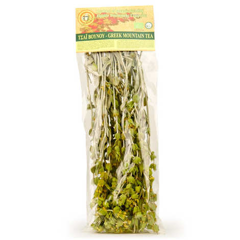 Delicre - Organic Greek Mountain herbal tea (malotira) in bough