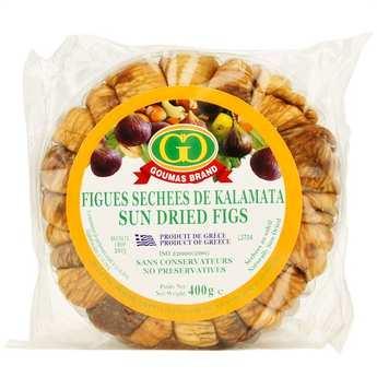 Goumas Brand - Figues séchées au soleil grecques - en couronne
