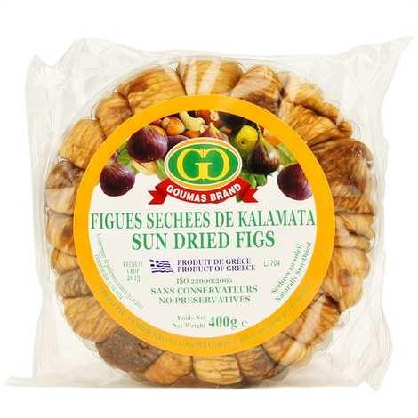Goumas Brand - Sun dried Greek figs