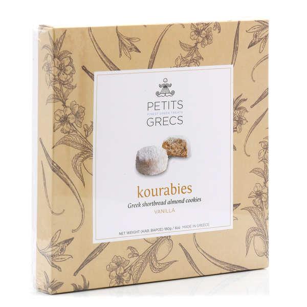Greek Kourabiedes - Almond And Vanilla Biscuits