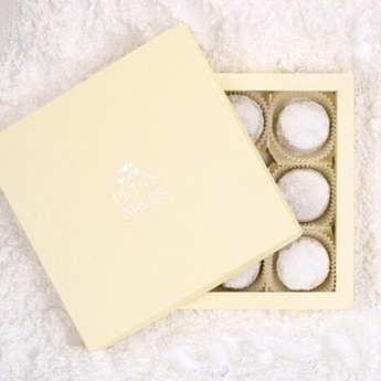 Petits Grecs - Greek Kourabiedes - Almond And Vanilla Biscuits