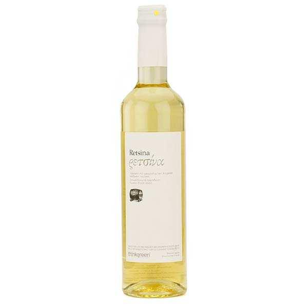Retsine blanc Roditis - Vin blanc grec résineux 11.5%