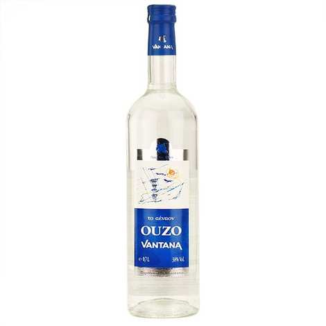 Vantana - Ouzo Aenaon 38% - anisé grec